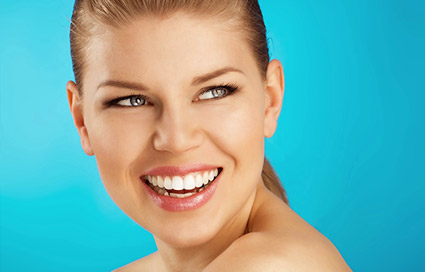 Cosmetic dentistry gum countering
